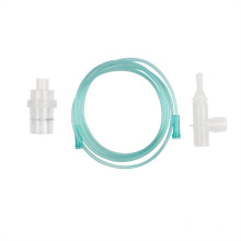 medical grade PVC oxygen mask with nebulizer set